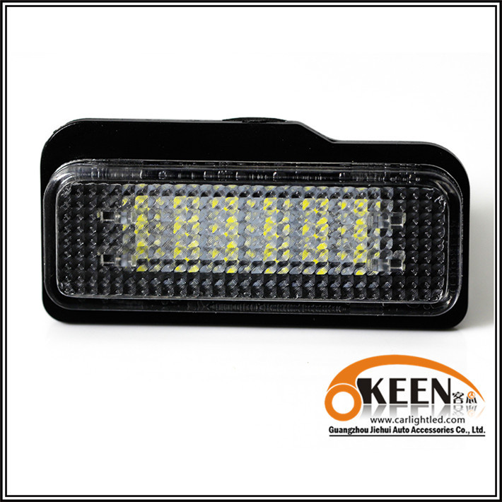 ABS 2pcs/lot Led chip New Cheap Rear Bumper Lamp Directly replacement New Special License Plate Lights Car Styling DC12-30V(China (Mainland))