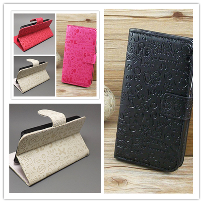 Magic Girl stand Leather Case with Holder Card Slot For Explay Vega free shipping()