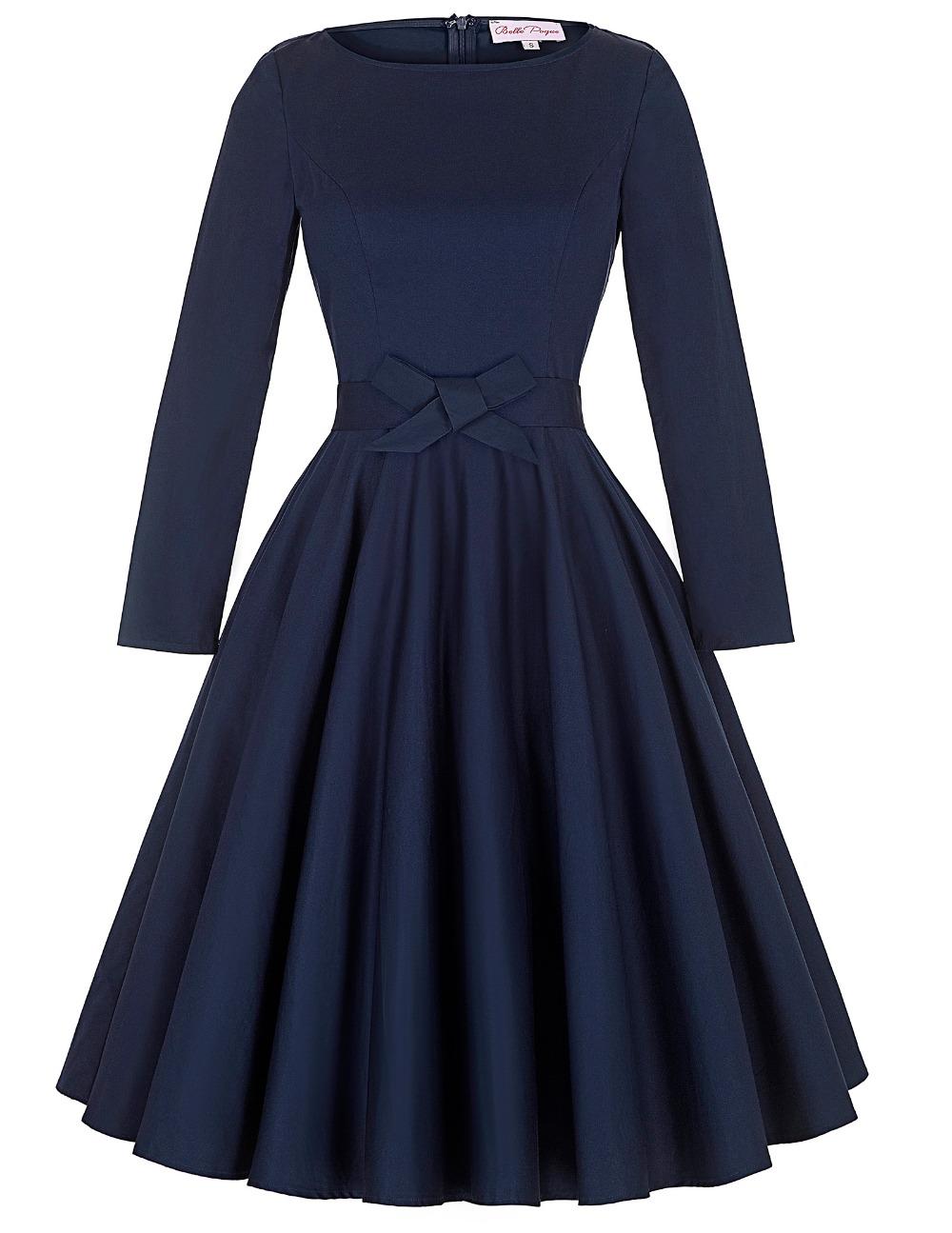 buy women vintage 50s retro robe rockabilly dress 2016 plus size elegant office. Black Bedroom Furniture Sets. Home Design Ideas