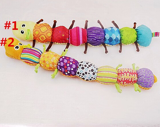 Best Birthday Gift 1PCS Musical Inchworm Educational Children Toys , Musical Stuffed Plush Baby Toys TOP19(China (Mainland))