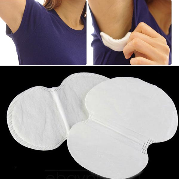 1Set=12pcs Underarm Dress Clothing Sweat Perspiration Pads Shield Absorbing Women/Men Health Care Product 6pcs long+6pcs Short(China (Mainland))
