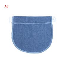 1PC Elastische Taille Extender Kleding Broek Moederschap Zwangerschap Tailleband Riem Voor Zwangere(China)