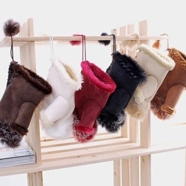 Fashion Women Girl Faux Rabbit Fur Hand Warmer Winter Fingerless Gloves Mittens(China (Mainland))