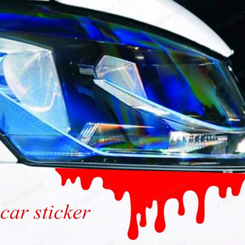 Blue car sticker design - Sticker Design Front Door