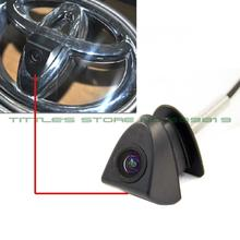 100% IP68 Waterproof 170 Degree 480 TVL HD ccd Color Toyota Logo mark Camera  for Front View (China (Mainland))