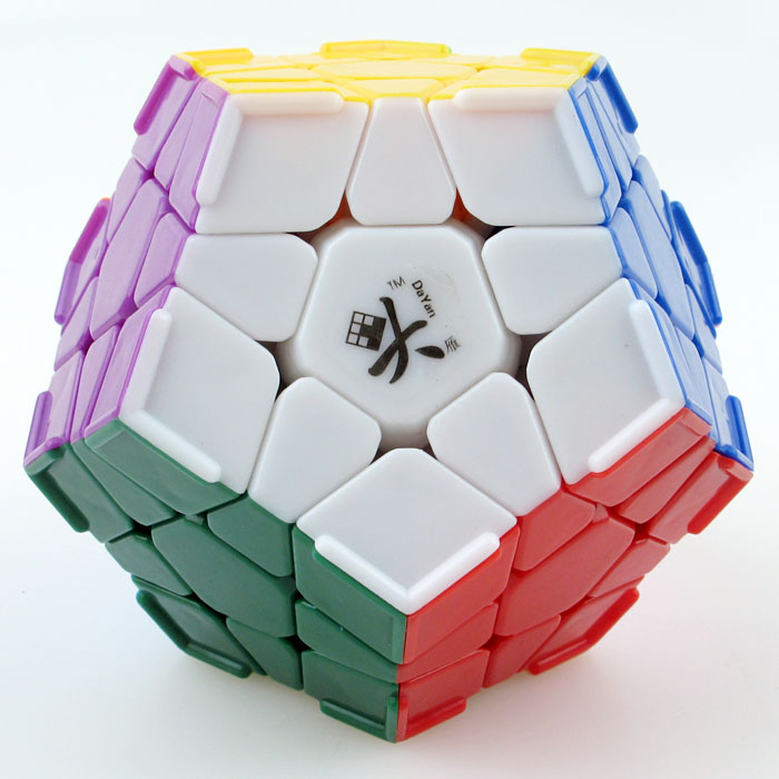 Dayan Megaminx Magic Cube IQ Brain Speed Puzzles toy learning & education cubo magico personalizado Game cube toys(China (Mainland))