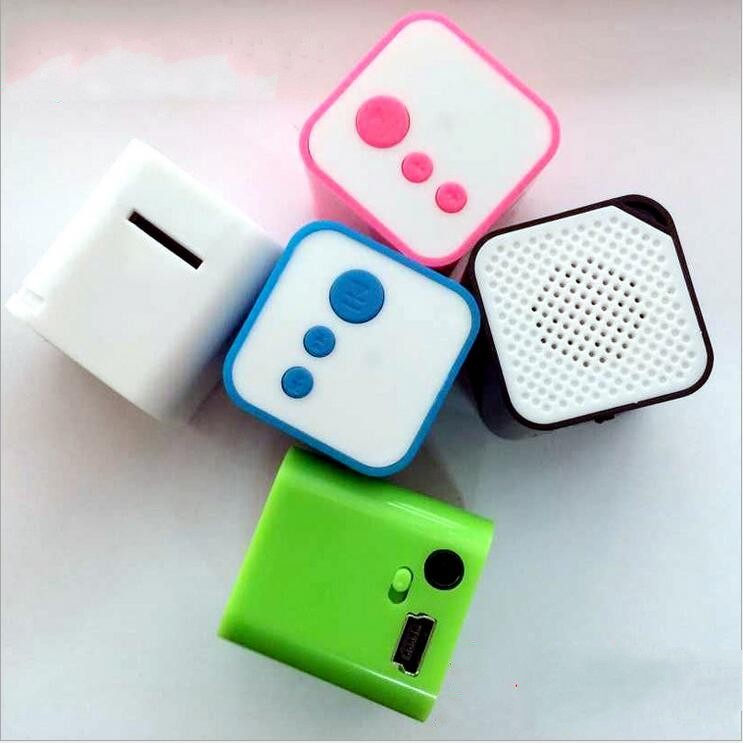 New Design Square Sport Mini Mp3 Player Portable Music Player With Micro TF Card Slot(China (Mainland))