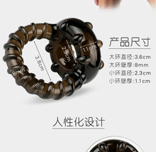 Buy new silicone cock ring penis ring male chastity device penis extension cockring ballstretcher scrotum stretcher sex ring man