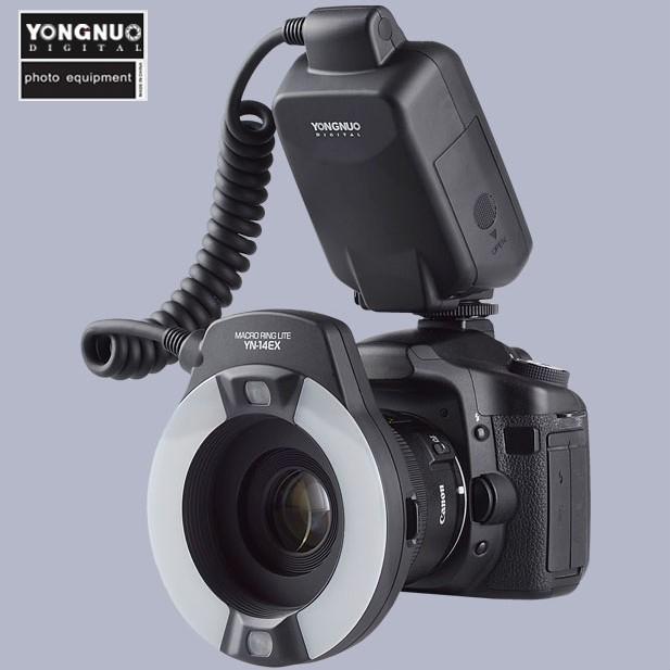 Yongnuo TTL Macro Ring Flash Lighting Light YN-14EX Canon Cameras MR-14EX