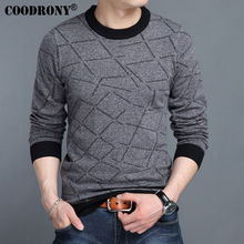 COODRONY 2017 Autumn Winter New Arrival Pure Cashmere Woolen Sweater Men Brand Clothing Casual O-Neck Knitwear Pullover Men 7206(China (Mainland))