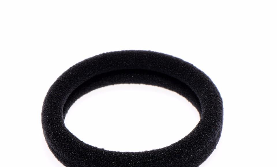 30pcs/lot black headband Elastic Hair Bands Girl Hair Holder High Quality Rubber Bands Tie Gum hair accessories women Headwear
