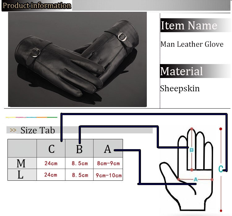 Man Leather Gloves (14)