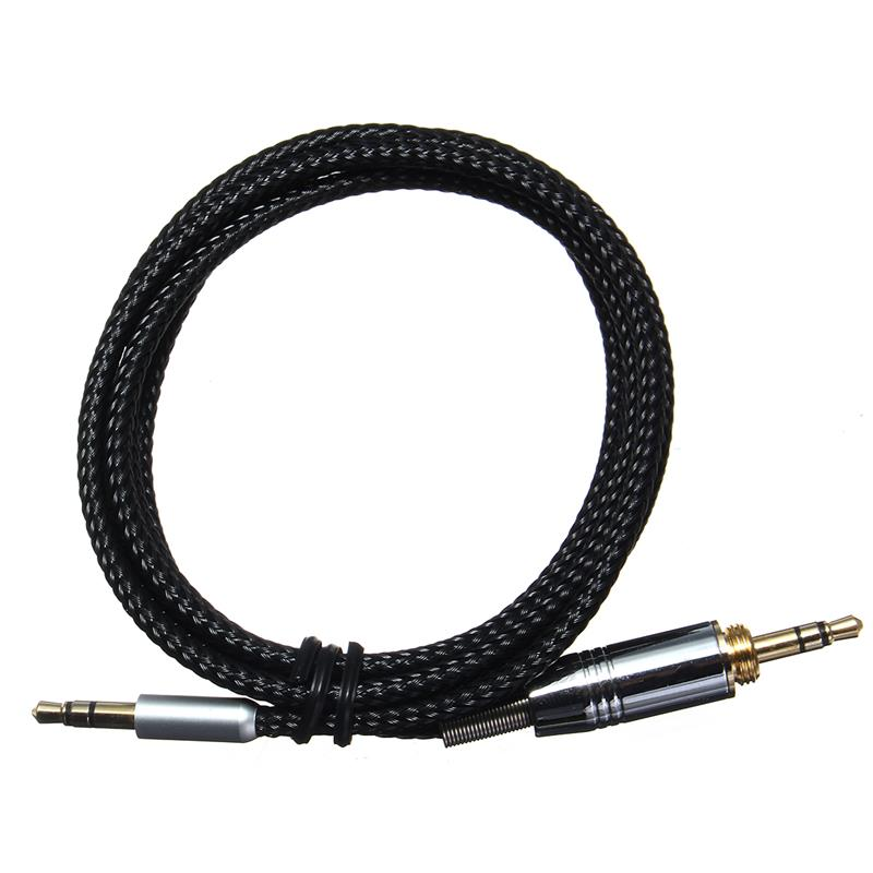 New 3.5mm to 6.35mm Audio Headphone Cable For Beyerdynamic Custom One Pro / Plus Headphones Cable Core Line 1.2M