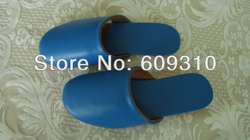 2015 women female fashion leather slippers outsole summer indoor floor shoes home bathroom Cow Muscle - Cissy Store store