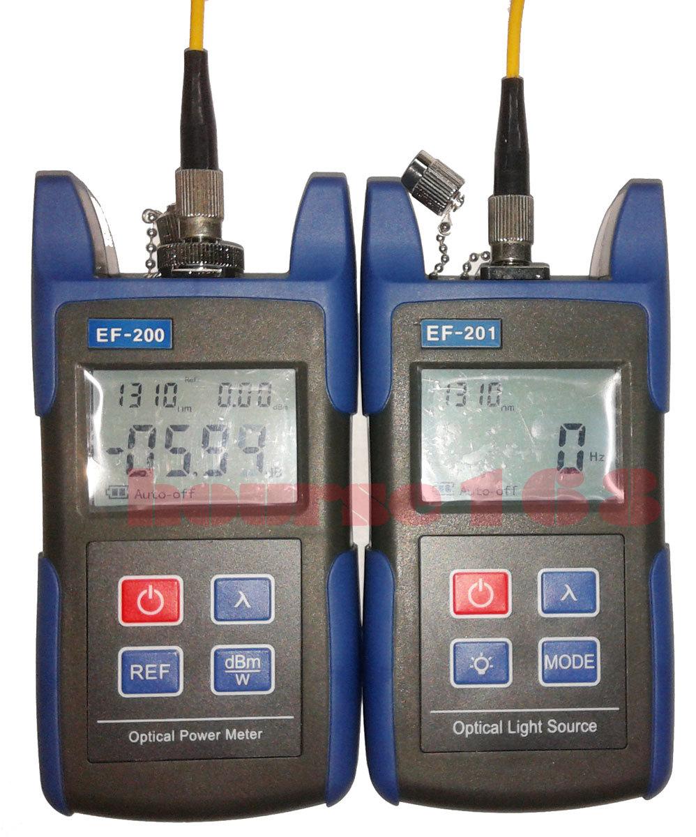 Fiber Optic Tools Optical Power Meter Kit Laser Light Source 1310/1550nm(China (Mainland))