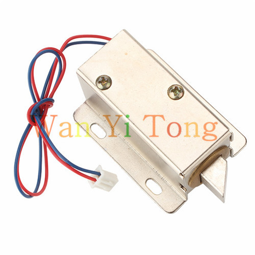 12V Left Cabinet Door Electric Lock Assembly Solenoid Lower Consumption(China (Mainland))
