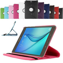 360 Rotating Case For Samsung Galaxy Tab A 8.0 SM-T350 T351 Tablet Cover Screen Protective Film Stylus Pen Free Shipping