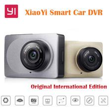 Original International Edition Xiaoyi Smart Car DVR WiFi Dash Camera 165 Degree ADAS 1080P 60fps 2.7Inch for Phone Free Shipping(China (Mainland))