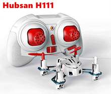 Original Hubsan H111 4CH 6-axis Gyro Mini RC Quadcopter with LED Light 2.4GHz RTF Children's toy RC TOYS