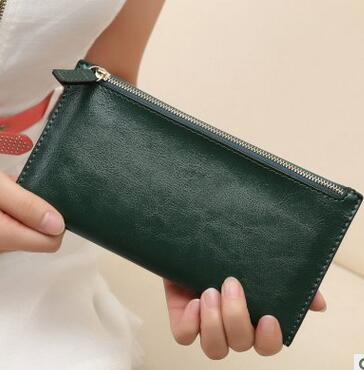 2016Han edition of the new wallet female zipper thin fashion wallet lady hand bag(China (Mainland))