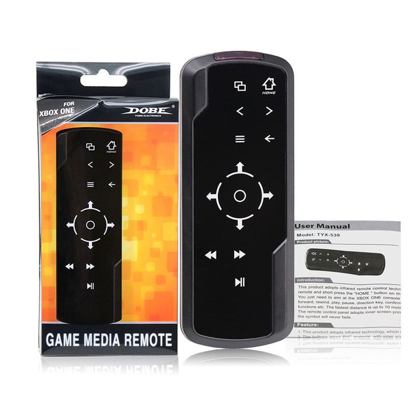 New Brand Game Media Remote Control for Microsoft Xbox One code grabber Universal remote control free shipping(China (Mainland))