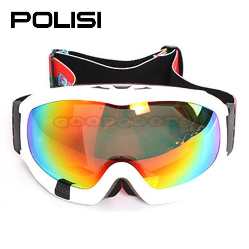 POLISI P812-WH ski goggles polarized Motorcycle Motocross Snowboard Protective Glasses Anti-Fog Polarized Sunglasses