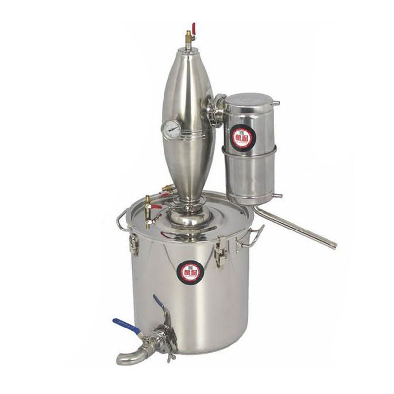 25L Stainless Home equipment wine Distillation Boiler Brewing Equipment brew alcohol whisky distiller(China (Mainland))
