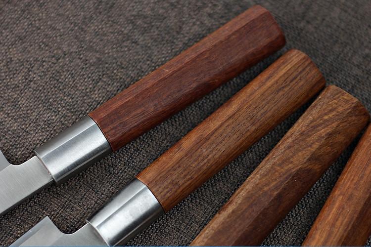 Buy Free Shipping BNL High Quality Chef Professional Slicing Sashimi Sashayed Fish Knife Restaurant Sharp Cooking Cleaver Knife cheap