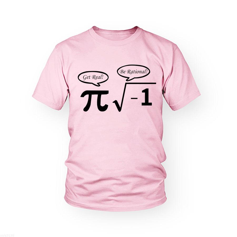 New Summer Men Funny Math T Shirt Cotton Short Sleeve Gym