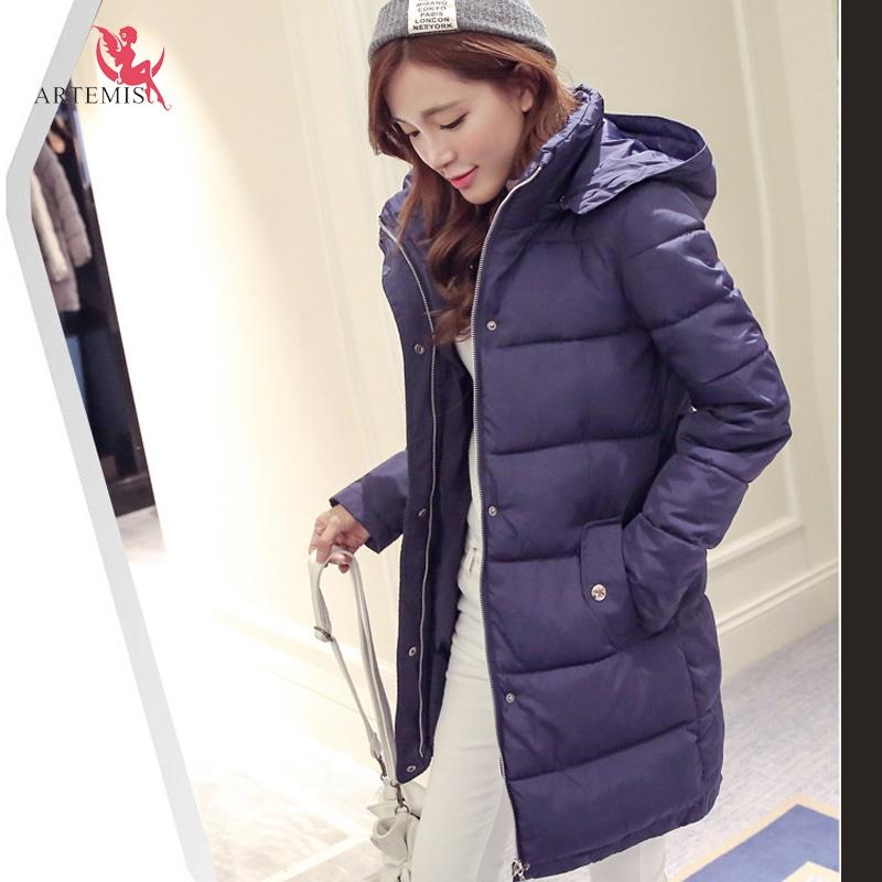 Winter 2015 Women Cotton Jacket Coat 2XL Women's Hot Selling Female Big Size Collar Hooded Parka