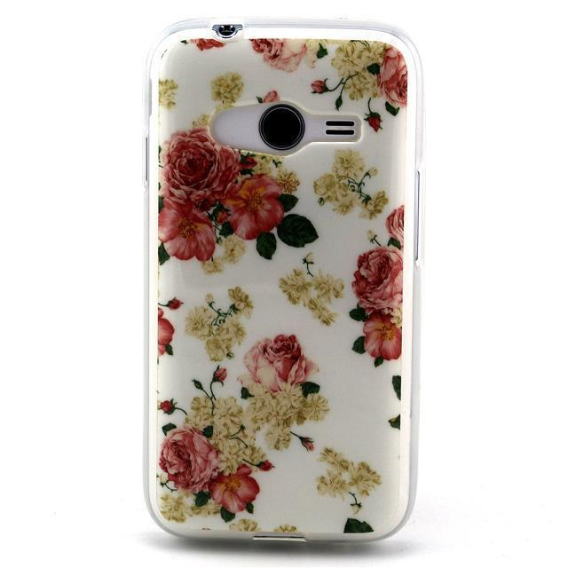 Fashion Soft Rubber TPU Silicon Back Cover Case Samsung Galaxy Ace 4 Lite NXT G313h - Made In China Centre store