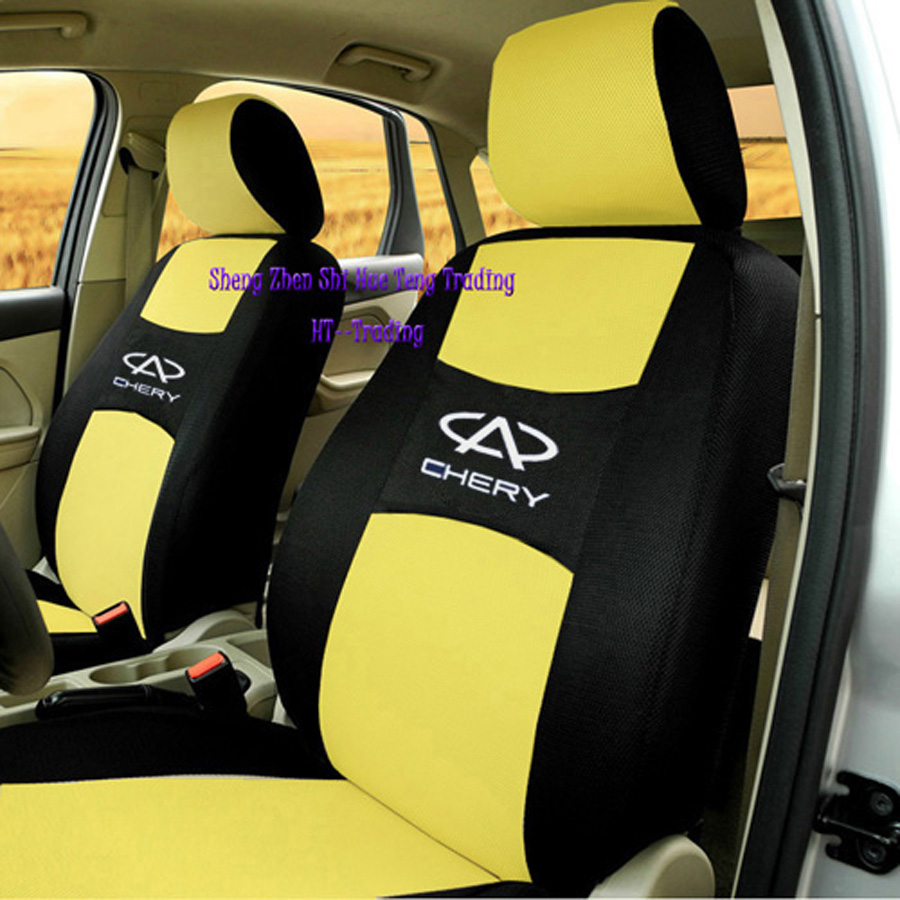Free Shipping+Generic car version Seat Cover For Chery QQ A1 A3 A5 E3 Tiggo Cowin Fulwin Riich Eastar With Sandwich Meterial<br><br>Aliexpress