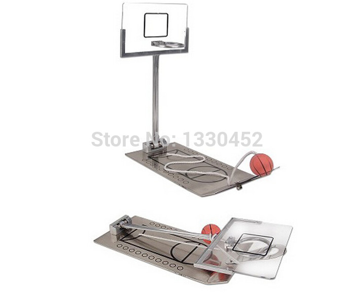 100pcs/lot wholesale Basketball Shooting Game mini basketball stand(China (Mainland))