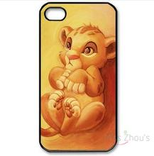 For iphone 4/4s 5/5s 5c SE 6/6s plus ipod touch 4/5/6 back skins cellphone cases cover Baby Cute Little Lion King Children