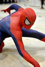 Marvel хэллоуин лайкра удивительный человек паук костюм для взрослых косплей маска объектив в том числе