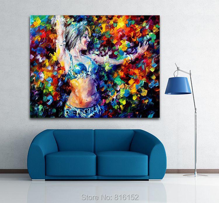 Belly dancer grande tela arte a buon mercato pittura a for Grandi case a buon mercato