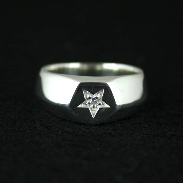 925 pure silver ring solid five-pointed star ring brief vintage ring male female finger ring<br><br>Aliexpress