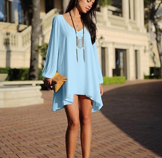 short long sleeve dresses casual « Bella Forte Glass Studio