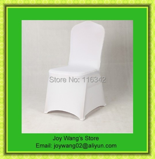 Discount Hot Sale 50pcs Universal Wedding Banquet / Polyester Chair Covers with 4 Pockets Wholesale(China (Mainland))