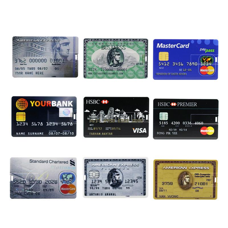 UBS Citibank USB Bank Cards USB Flash Drive 8GB 16GB 32GB USB Stick 8G 16G Memory PenDrive Key U Disk Creative Gift Thumb Drive(China (Mainland))