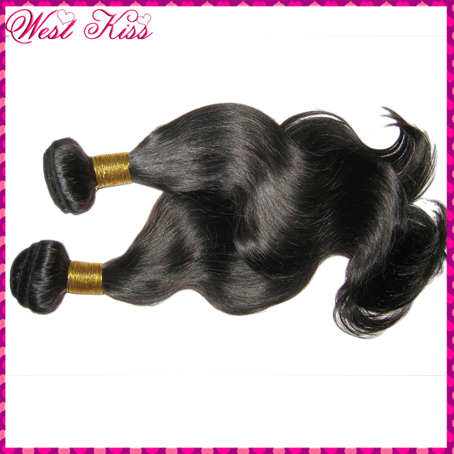 "Top quality Thick Body Wave Filipino Virgin human hair Mixed lengths(18"",20"",22"") lot 300g/3bundles KissLocks New Brand"