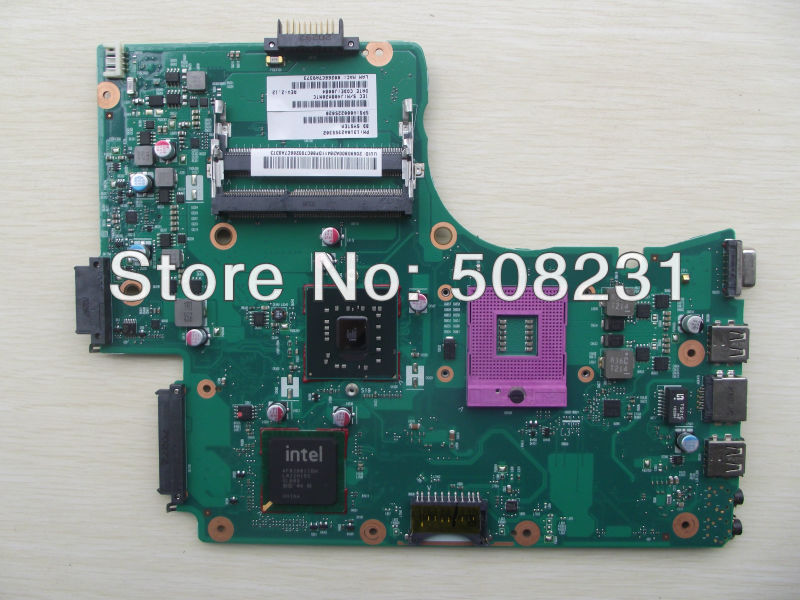 Wholesale V000225020 latop motherboard for Toshiba  C650 L650, 100%Tested and guaranteed in good working condition<br><br>Aliexpress