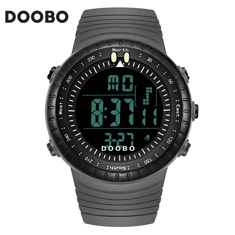 DOOBO Fashion Watch Men Waterproof LED Sports Digital Military Watches Men's Casual Electronics Wristwatches Relogio Masculino(China (Mainland))