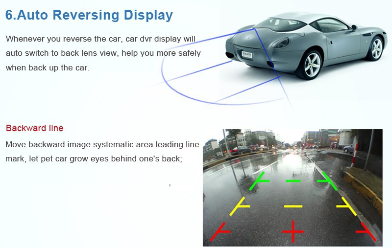 """Купить 5.0 """"IPS Сенсорный Android 4.4 ROM 16 ГБ FHD1080P даш камеры парковки автомобильные видеорегистраторы зеркало Заднего Вида видеорегистратор Автомобильный ВИДЕОРЕГИСТРАТОР Двойная Камера GPS"""