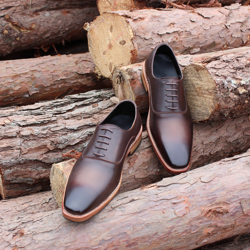 SKP148Custom Made Goodyear 100% Genuine Leather Handmade Oxfords Shoes, Mens Handcraft Dress Formal Shoes Large/Plus Size<br><br>Aliexpress
