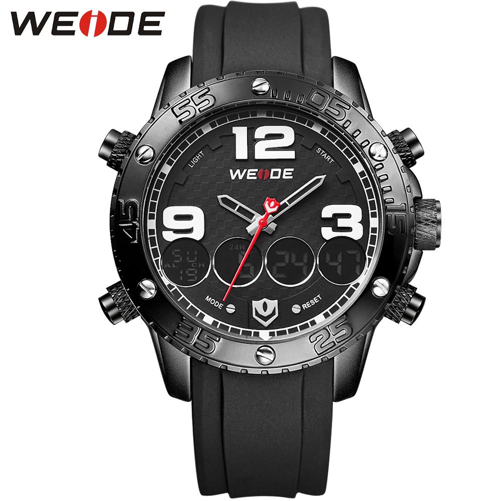 WEIDE Brand Quartz-watch Erkek kol saati Alloy Bezel Unique Watches Relogio Digital Fashion Casual Watch For Men Wristwatches<br><br>Aliexpress