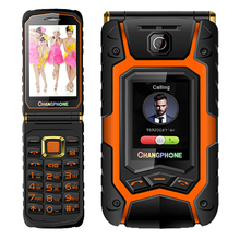Flip Double dual Screen Dual speaker Dual SIM Card one-key dial and call long standby FM touch screen mobile phone P036(China (Mainland))