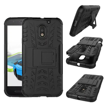 "Buy Motorola Moto E3 Case TPU+PC Dual Armor Cover Stand Holder Hybrid Kickstand Cover Case Moto E 3 E3 3rd gen 5.0"" for $1.49 in AliExpress store"
