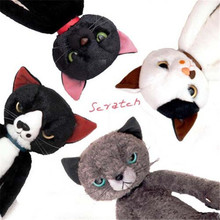 Japan Anime Figure Tamino Maita Scratch Cat Plush Doll Toys Super Cute Kids Cat Plush Gift 40cm