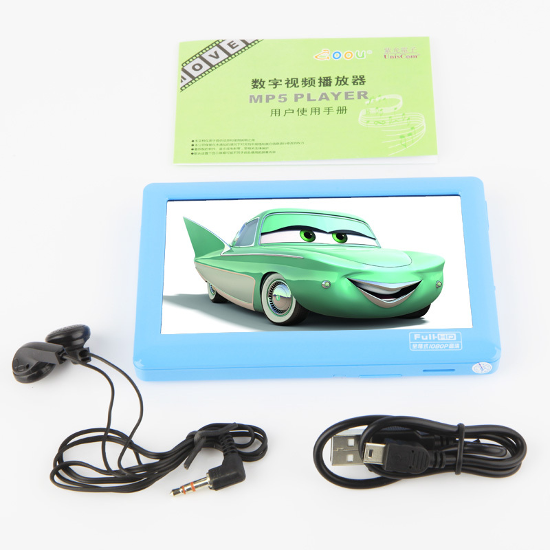 Free shipping 5 inch HD Touch Screen MP4 MP5 Player+TV OUT+video+electronic dictionary+games+8GB Memory Card Free Shipping(China (Mainland))